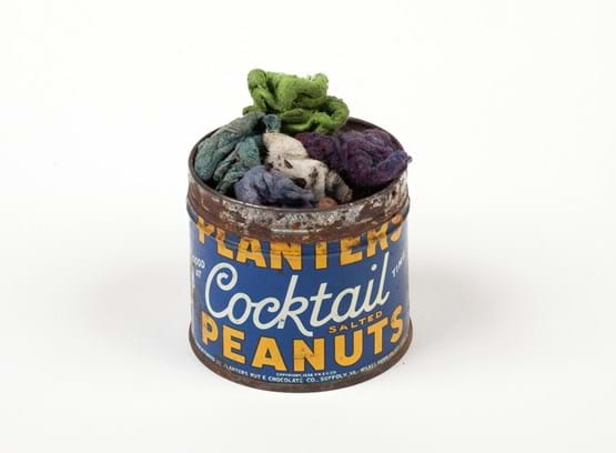James Castle Collection - Peanut Container