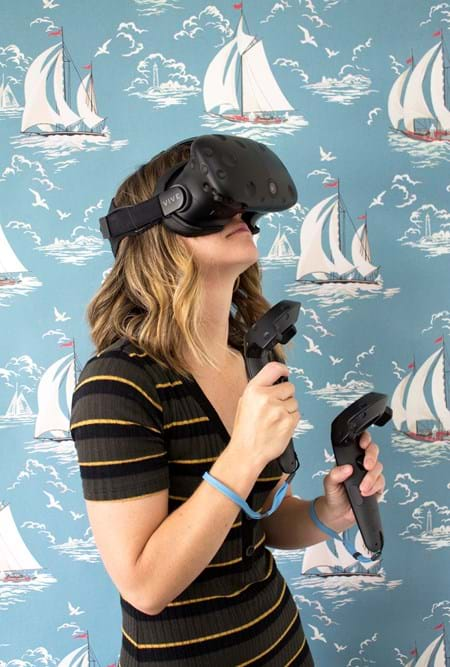 Virtual Reality at the James Castle House 4/25